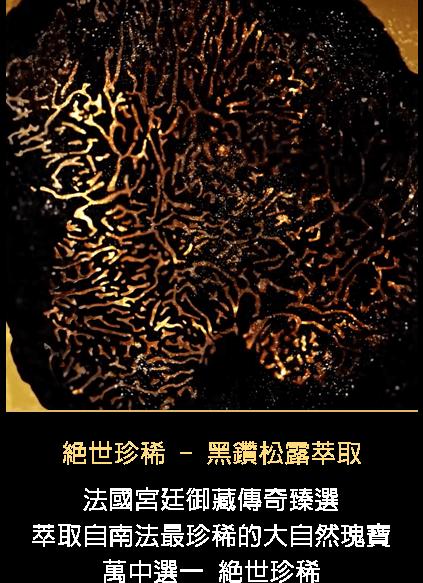 絕世珍稀 - 黑鑽松露萃取